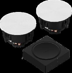 Sonos In-Ceiling Set + Amp